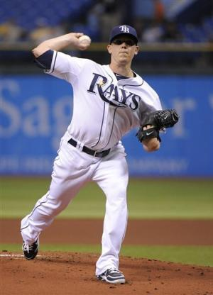 Hellickson goes 7, Rays beats Royals