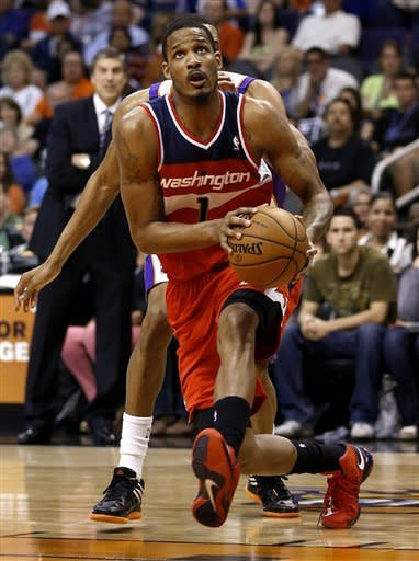 John Wall scores 19 as Wizards beat Suns 88-79