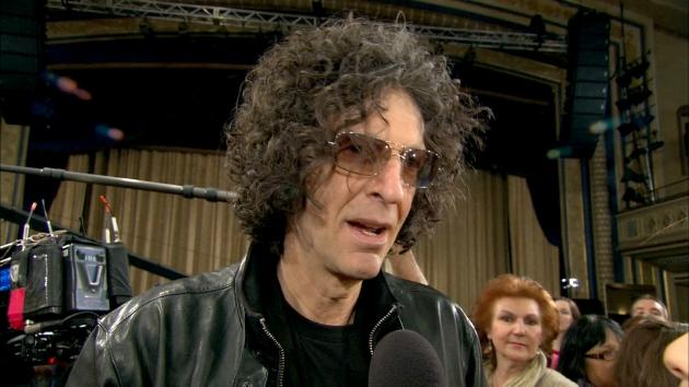 Howard Stern chats with Access Hollywood at 'America's Got Talent' auditions in New York City on April 11, 2012 -- Access Hollywood