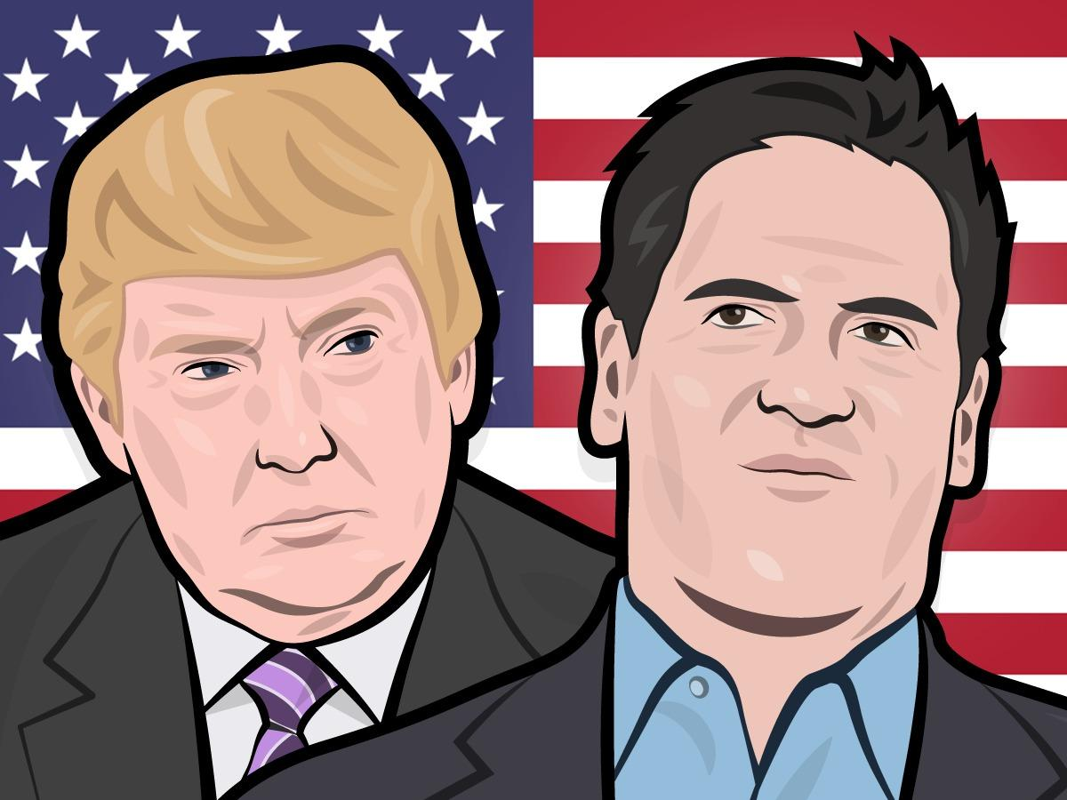 MARK CUBAN: Mavericks fans love that Donald Trump 'is shaking things up'