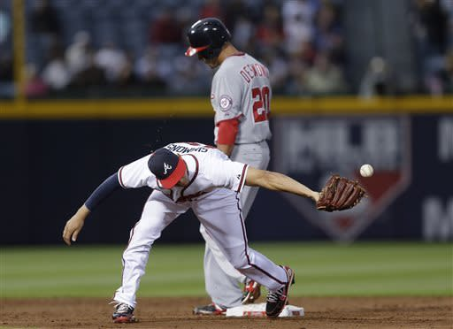 Haren throws 8 sharp innings, Nationals top Braves