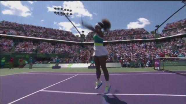 Serena Williams claims Sony Open title