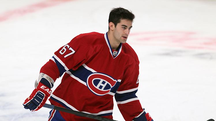 Headline: NHL: Florida Panthers at Montreal Canadiens