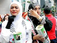 Artis kutip derma untuk mangsa di Gaza