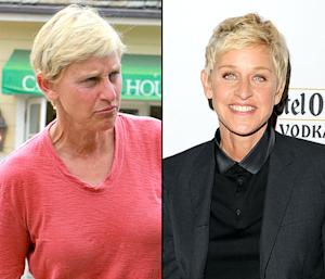 Ellen DeGeneres Goes Without Makeup, Shows Off Sun-Kissed Skin While Furniture Shopping: Picture