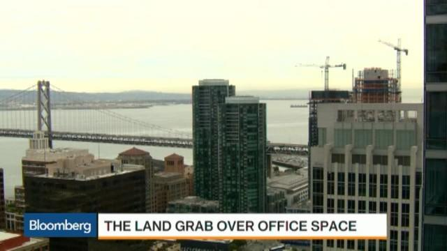 The Land Grab Over San Francisco Office Space
