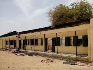 This April 21, 2014 photo shows the Chibok public school …