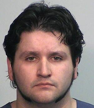 """This photo provided by the Dover (N.H.) Police Dept. shows Seth Mazzaglia. Authorities say Elizabeth """"Lizzi"""" Marriott,  a 19-year-old University of New Hampshire student missing for days is dead, and Mazzaglia  has been charged with second-degree murder, Saturday, Oct. 13, 2012. (AP Photo/Dover (N.H.) Police Dept.)"""