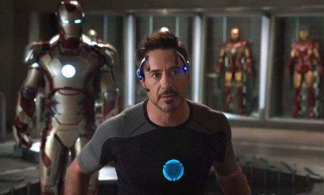 In the first trailer for Iron Man 3, we find a haunted Tony Stark being stalked by a new villain played by Ben Kingsley.