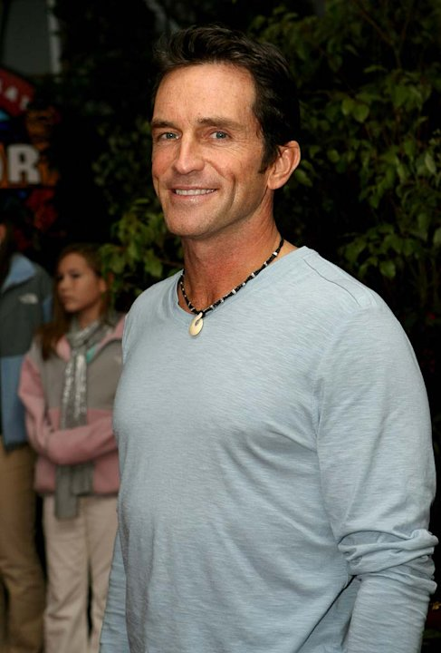 Jeff Probst at the &quot;Survivor: Cook Islands&quot; Finale. 