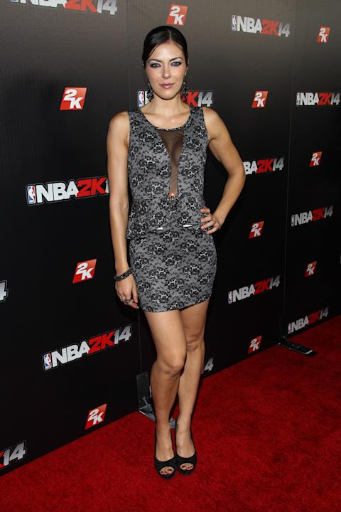 "Premiere of ""NBA 2K14"" Video Game"