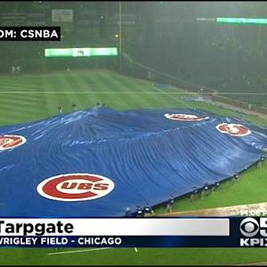 Giants Win Protest Of 'TarpGate' Game Loss After Botched Wrigley Field Tarp Placement
