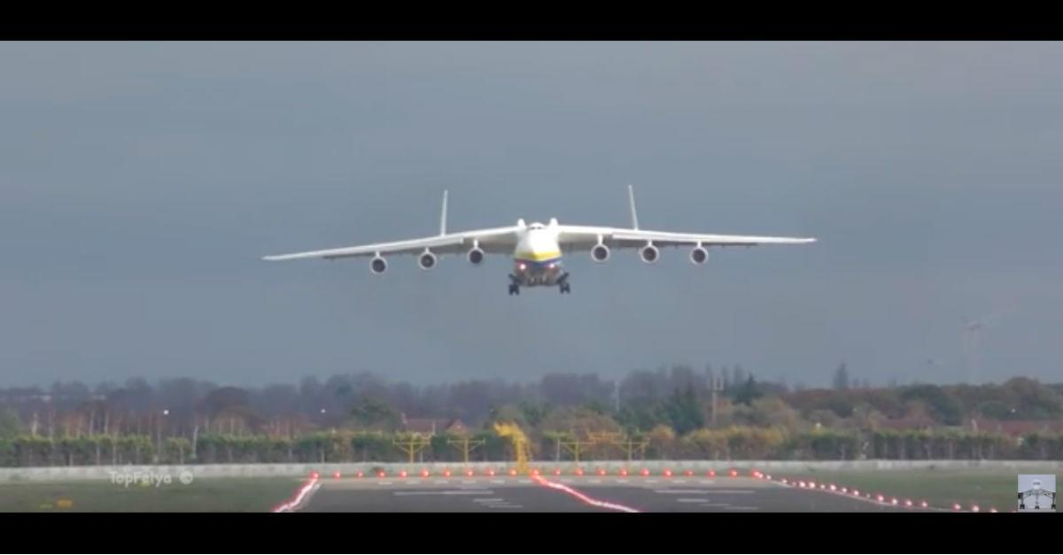 Largest Aircraft Ever Does a Scary Low Pass
