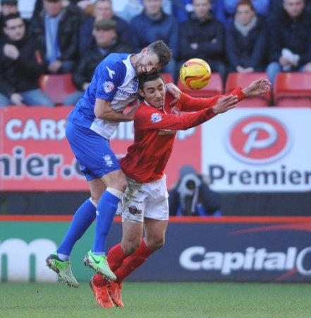Soccer - Sky Bet Championship - Charlton Athletic v Birmingham City - The Valley