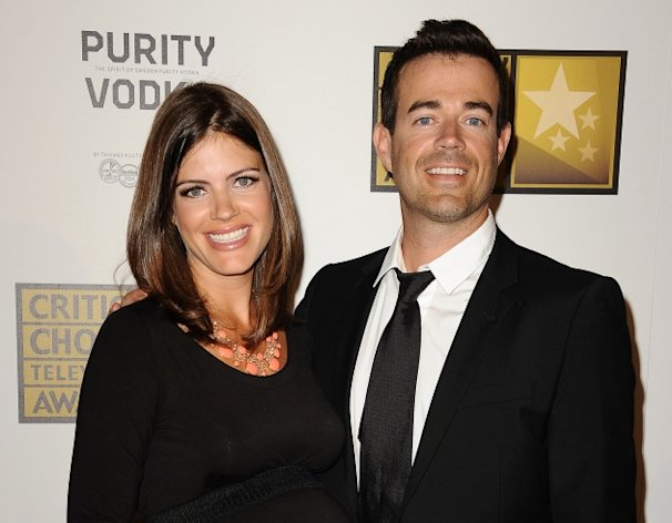 Carson Daly and Siri Pinter attend the Critics&#39; Choice Television Awards at The Beverly Hilton Hotel in Beverly Hills on June 18, 2012  -- Getty Premium