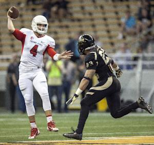 No. 23 Fresno State beats Idaho 61-14