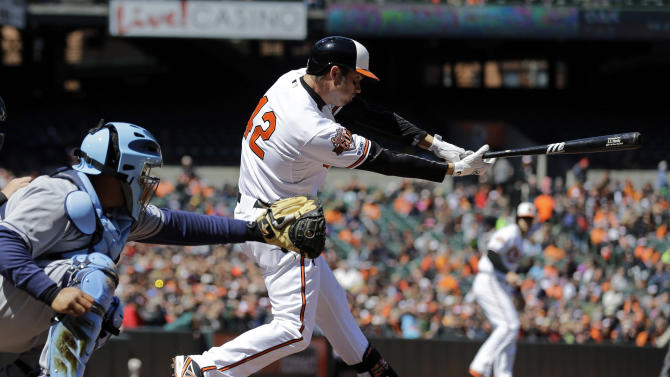 Orioles beat Rays 3-0 for 2-game sweep