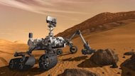 An artist's impression of the Mars Curiosity rover. Scientists do not expect Curiosity to find aliens or living creatures. Rather they hope to use it to analyze soil and rocks for signs that the building blocks of life are present and may have supported life in the past.