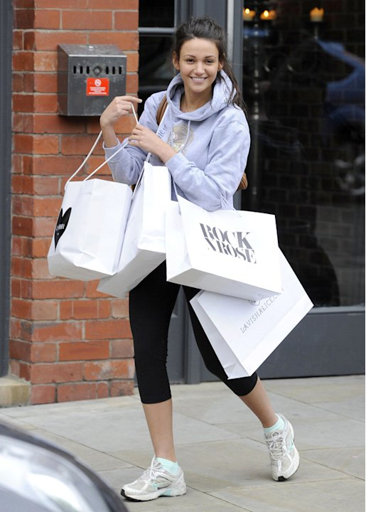 Michelle Keegan goes without makeup and looks just as stunning. Sigh. Copyright [Rex]