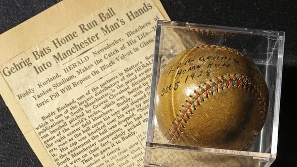 The Lou Gehrig Baseball That's Paying Off a Med Student's Debt