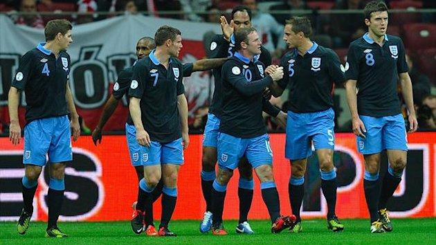 FOOTBALL 2012 Poland-England (Rooney)