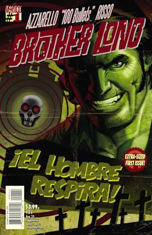 """This photo provided by DC Entertainment shows the cover of """"100 Bullets: Brother Lono."""" Vertigo Comics has long cultivated its reputation as home to the odd, unusual and unsettling. Being part of DC Entertainment, and by extension, Time Warner Inc., the opportunities for Vertigo Comics for expanding beyond the printed page are legion, a notion not lost on new executive editor Shelly Bond. Bond said the imprint, whose current and coming titles include Bill Willingham's """"Fables,"""" Scott Snyder's """"The Wake,"""" Brian Azzarello and Eduardo Risso's """"100 Bullets: Brother Lono"""" and the upcoming graphic novel """"Fairest: In All the Land"""" won't play it safe. (AP Photo/DC Entertainment)"""