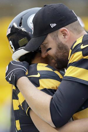 Roethlisberger takes control as Steelers soar