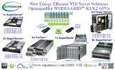 Supermicro® Expands Range of Energy Efficient VDI Server Solutions for NVIDIA GRID