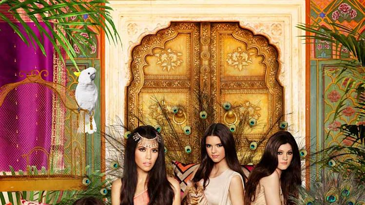 "The cast of ""Keeping Up with The Kardashians."""