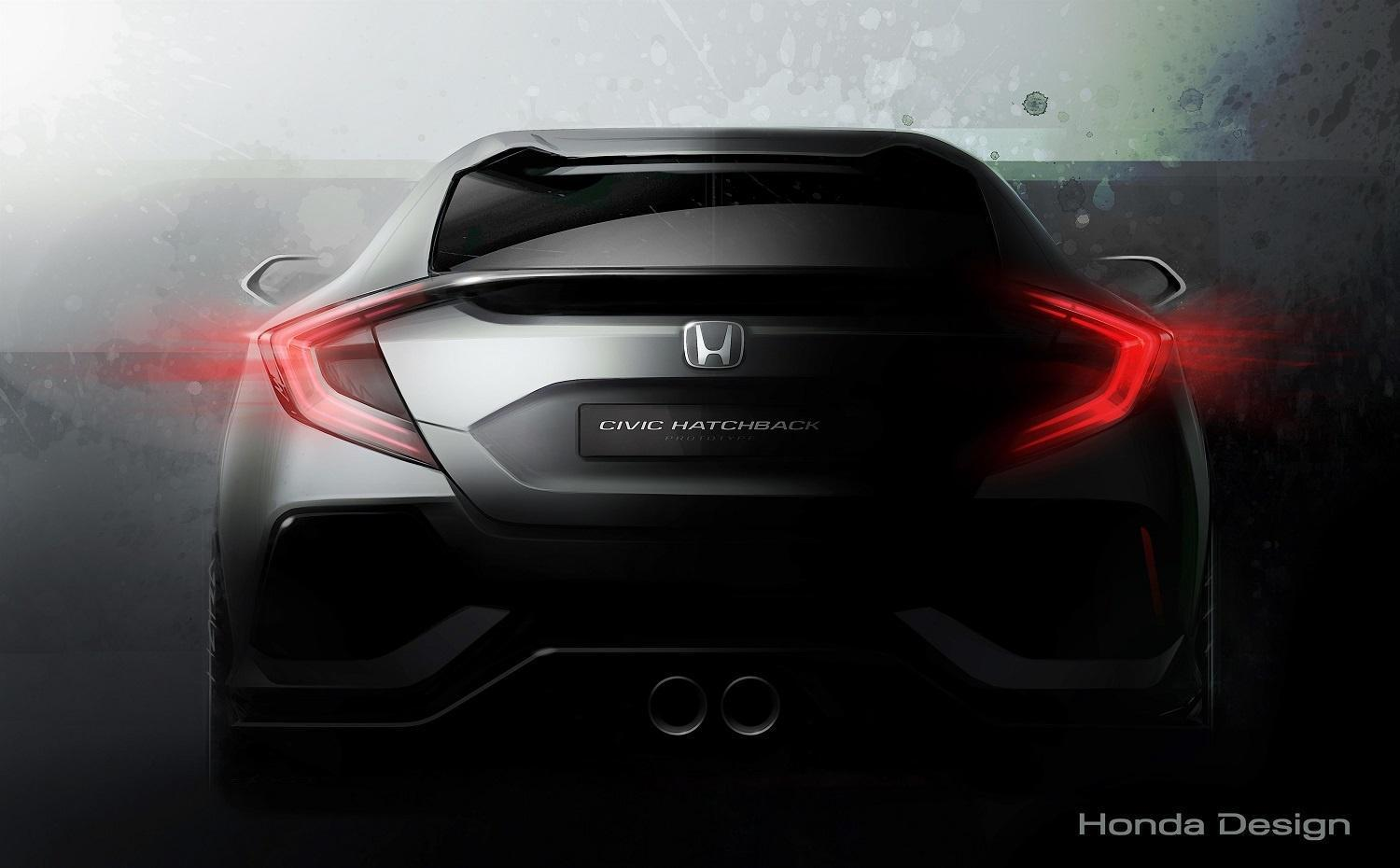Hatch heaven: Honda's next concept will preview the first US-bound Civic hatchback