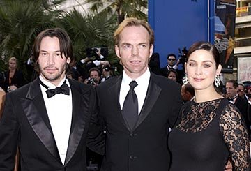 Keanu Reeves, Hugo Weaving and Carrie Anne Moss