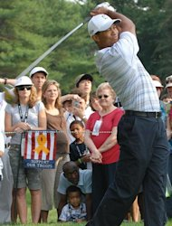 Tiger Woods in 2007 form