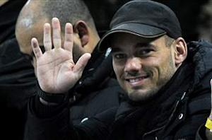 Moratti happy with Sneijder deal