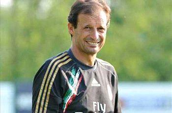 Allegri anxious over AC Milan's top-three chances
