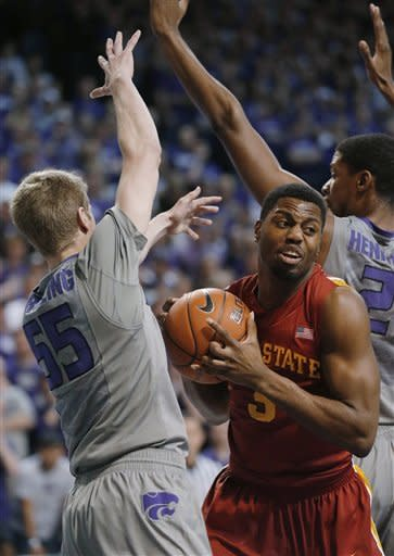 McGruder scores 22 as No. 13 K-State tops Iowa St