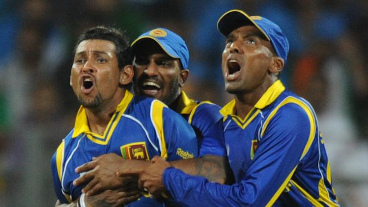 Sri Lankan cricketers Chamara Kapugedara