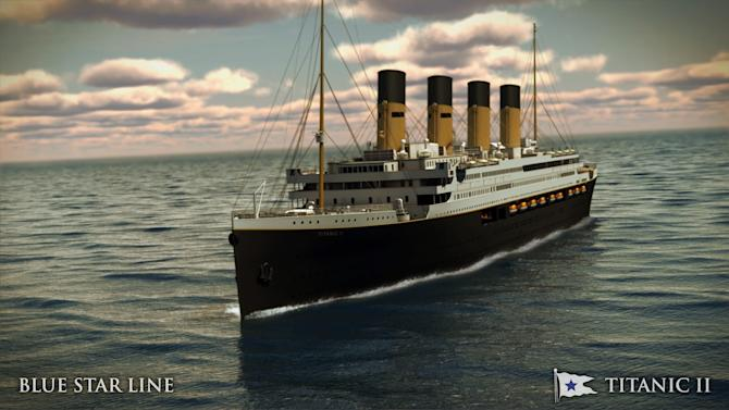 Billionaire launches plans for Titanic replica