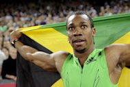 Jamaica's Yohan Blake at the Diamond League series Weltklasse athletics meet in September 2011. The world 100-meter champion is among the stars set to race at the Diamond League meet in New York on Saturday