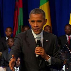 "Obama urges young leaders to ""update"" Africa on women's equality"