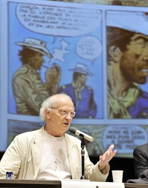 Famous French cartoonist Jean Giraud, known as Moebius