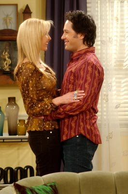 Lisa Kudrow and Paul Rudd in NBC's Friends