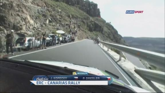 ERC - Canarias Rally: Final Day