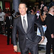 Tom Hanks at the UK premiere of Larry Crowne