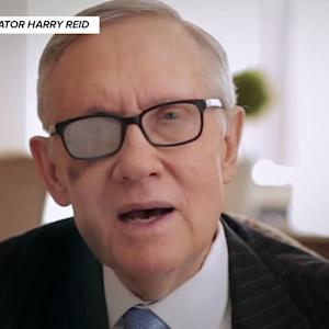 Harry Reid's Resignation Video Is Very, Very Sad