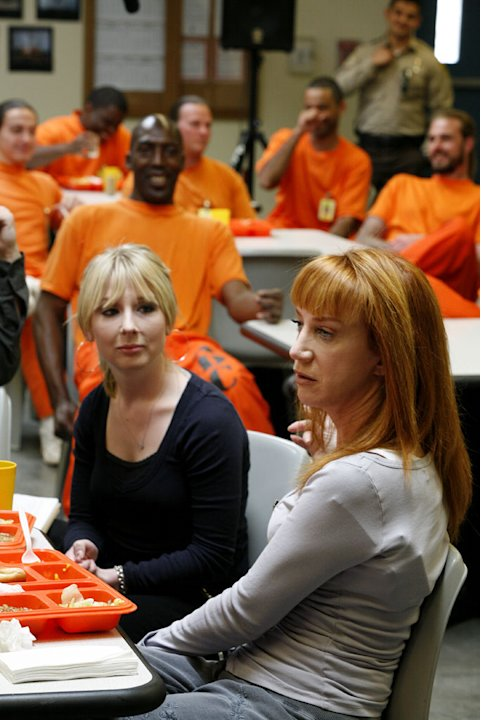 Kathy Griffin performs at Perryville State Penitentiary in Arizona on Kathy Griffin: My Life On The D-List.