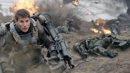 Tom Cruise in Warner Bros. Pictures' 'Edge of Tomorrow' -- Warner Bros