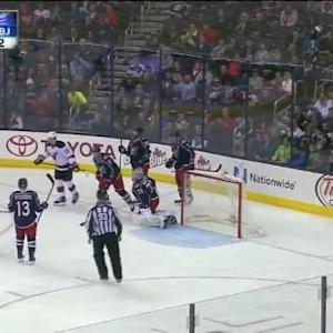Sergei Bobrovsky Save on Adam Larsson (09:41/2nd)