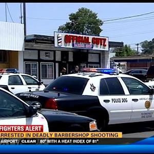 Two arrested in deadly barbershop shooting
