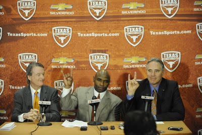 If you're the University of Texas' president, here are the emails you get about your terrible AD