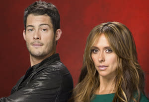 Brian Hallisay, Jennifer Love Hewitt | Photo Credits: Lifetime